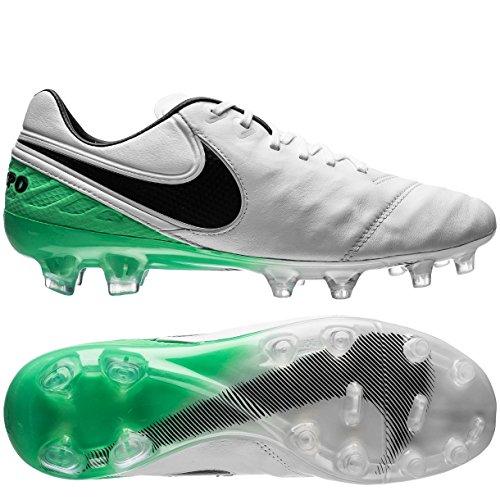 Nike Herren Tiempo Legend Vi (Fg) Fußballschuhe WHITE/BLACK-ELECTRO