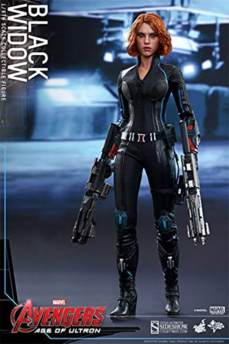 Movie Masterpiece Avengers/ The Age of Ultron Black Widow 1/6 Scale Plastice Painted Action Figure by Hot -
