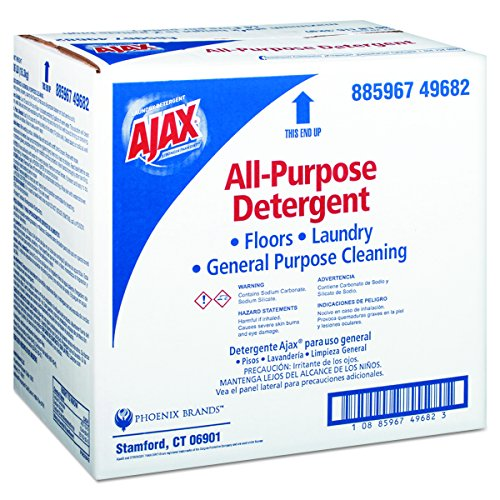 Ajax 49682 Ajax Low-Foam All-Purpose Laundry Detergent, 36lb Box (Foam Detergent Low)