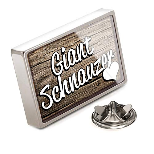 (NEONBLOND Lapel Pin Giant Schnauzer, Dog Breed Germany)