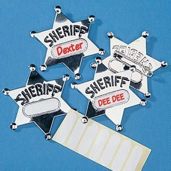 (Metal Sheriff Badges (12 ct) (12 per package) by)