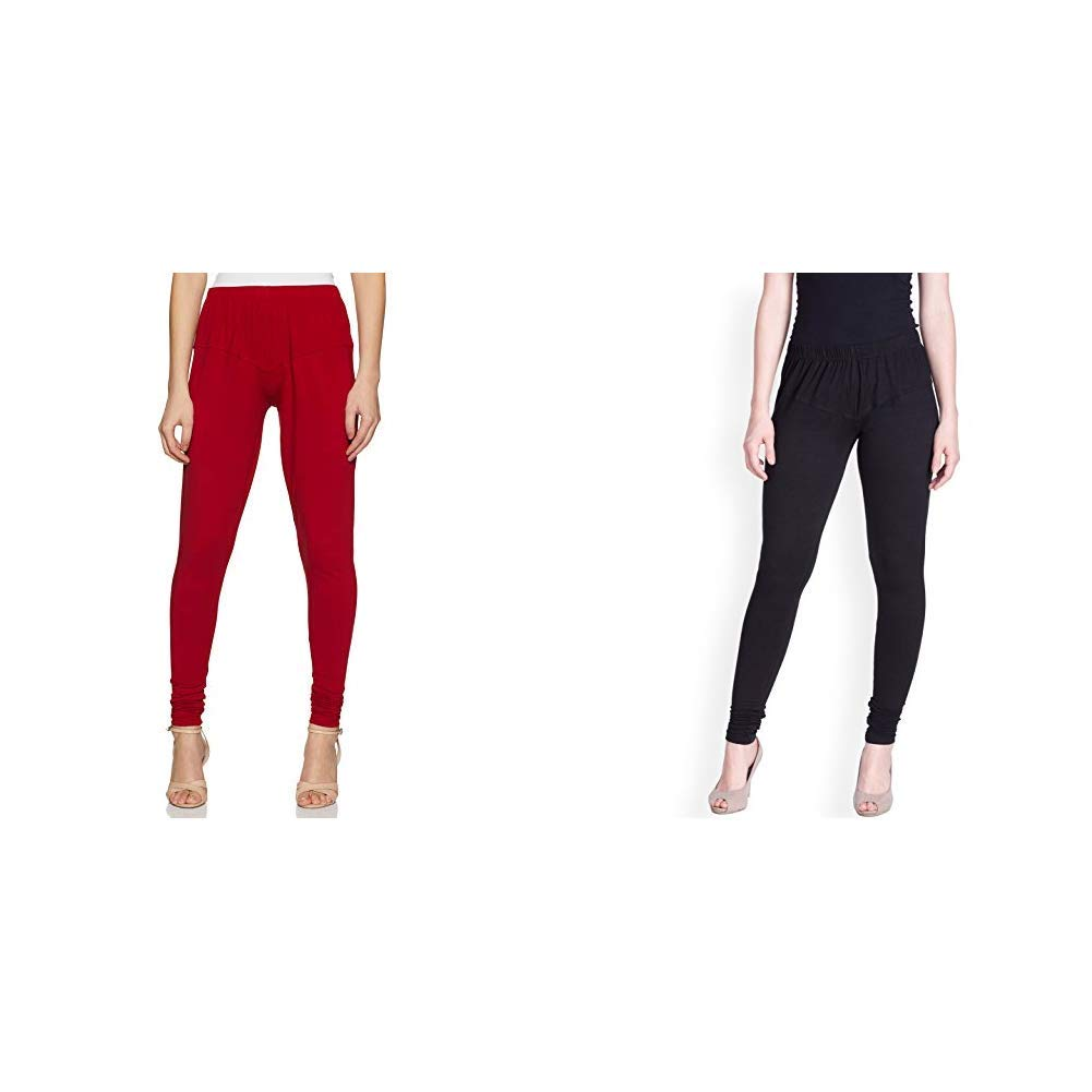 Lux Lyra Women's Leggings (Pack of 2)(LYRA IC LEGG PARRY...