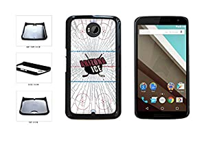 Arizona Ice Plastic Phone Case Back Cover Nexus 6 comes with Security Tag and MyPhone Designs(TM) Cleaning Cloth