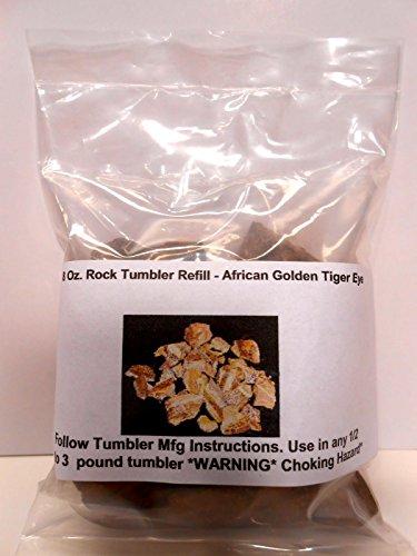 Rock Tumbler Gem Refill Kit True Africa Golden Tiger Eye Tum