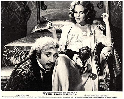 Young Frankenstein Orig Lobby Card Gene Wilder Madeline Kahn Bedroom Scene 1974 ()