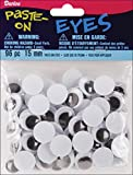 Darice Paste On Wiggle Eyes 15 mm Black (8 Pack)