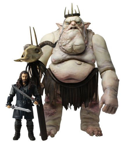 The Hobbit: An Unexpected Journey 3.75-inch Figure Battle Pack with The Goblin King and Thorin Oakenshield -