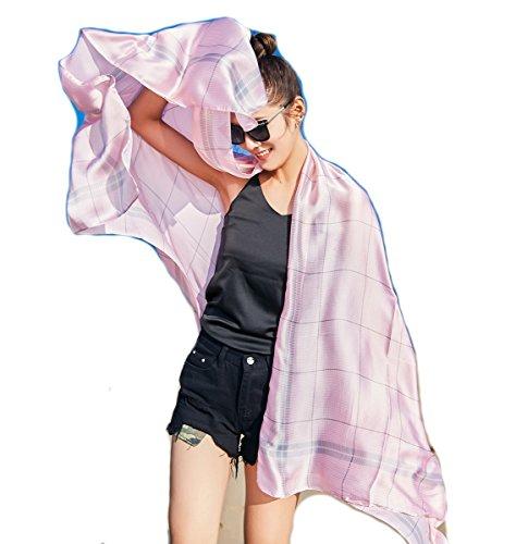 De UV Extra Donna da Rosa Copricostumi Spiaggia Wrap SiLK amp; e Protezione Pareo Scialli Sciarpe Costumi Pied Bambine ragazze Stole Felix bagno Grande Poule solare Sarong TWxpgfYwfq