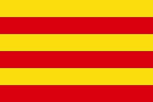 DIPLOMAT-FLAGS Comtat d Empúries   Old County of Empúries Catalonia   L Antic comtat d Empúries Catalunya Bandera   Bandera Paisaje   0.06m²   20x30cm Banderas de C: Amazon.es: Jardín