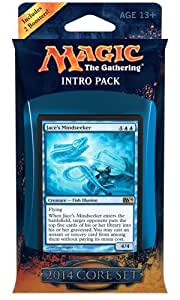 MTG Magic the Gathering Core Set 2014 M14 Intro Deck Psychic Labyrinth