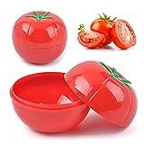 onion tomato saver - super1798 Creative Onion Lemon Pepper Tomato Shape Kitchen Food Vegetable Containers