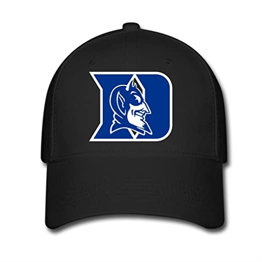 HOIUK Duke Blue Devils Nice Baseball Caps For Everyone Black caps at ... 95a455744096