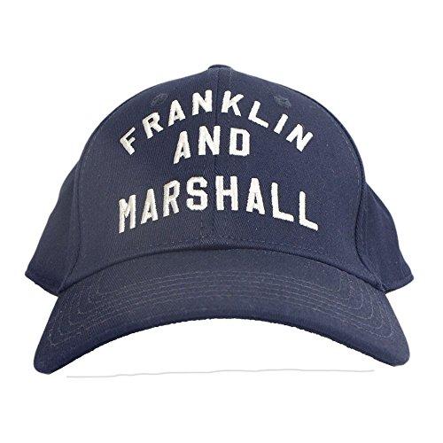 Franklin & Marshall CPUA906 Unisex Arch Logo Navy Cap 56 Navy (Arch Logo Cap)