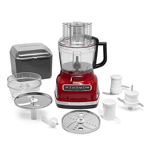 KitchenAid KFP1133ER 11-Cup Food Processor with Exact Slice System - Empire Red by KitchenAid (Image #2)