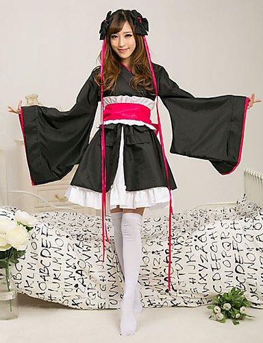 Ch&Ch máquina-doll miko kimono japonés traje de sirvienta ...