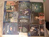 The Cat Returns,Ponyo,My Neighbor Totoro,Kiki's Delivery Service,Howl's Moving Castle,Spirited Away,Castle In The Sky,Whisper Of The Heart,8 Dvd's