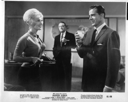 (Dana Andrews Madison Avenue Original 8x10 Photo J0659)