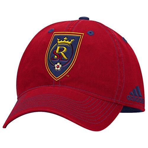 Real Salt Lake Adidas MLS ''Team Performance'' Structured Adjustable Hat by adidas