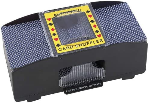 AUTO CARD SHUFFLER W// 2 DECKS