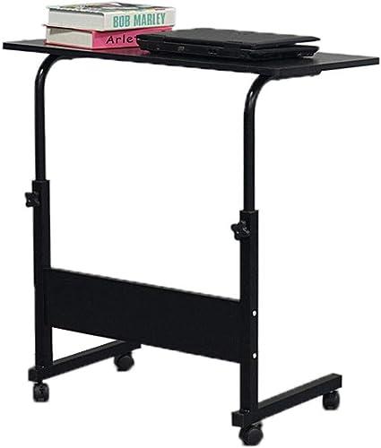 Medical Adjustable Mobile Laptop Stand Small Side Bedside Table Desk