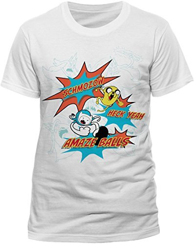 - Extra Large Adult's Adventure Time T-shirt