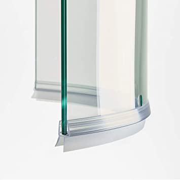 100 cm ec-402-c Junta Curva mampara de ducha con escurridor para ...