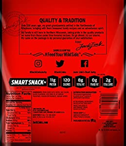 Link Snacks Jack Links Bacon Jerky Hickory Smoked 25 Ounce by Link Snacks