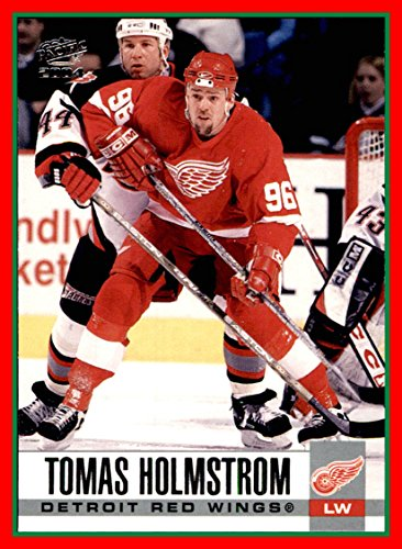 (2003-04 Pacific #118 Tomas Holmstrom DETROIT RED WINGS)