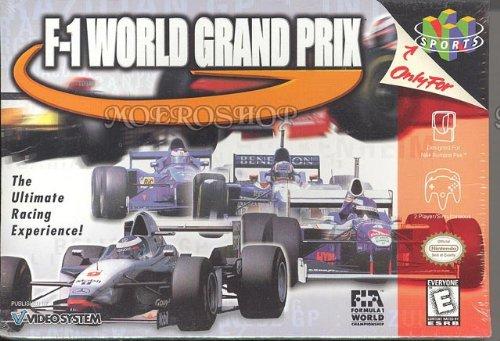F 1 World Grand Prix nintendo 64