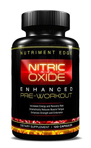 Nitric Oxide Booster Et L-Arginine Complémentaires 120 Capsules - Meilleur NO2 Pour Force Enhanced + Endurance + musculaire maximale, réduit la fatigue, augmente l'énergie et Taux de récupération ou de votre Retour Money - Made in USA, GMP, une qualité co