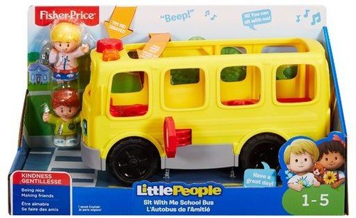 Fisher-Price Little People Sit with Me School Bus School Bus Song