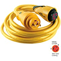MARINCO Marinco CS30-25 EEL 30A 125V Shore Power Cordset - 25 - Yellow / CS30-25 /