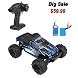 Image of DTN 2.4Ghz 4WD Electric RC Car Offroad Remote Control Car 1:18 Scale 30MPH with an Extra Rechargeable Battery