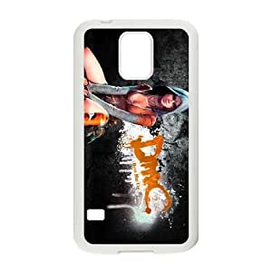 High Quality Specially Designed Skin cover Case games Kat in DmC Devil May Cry Samsung Galaxy S5 Cell Phone Case White