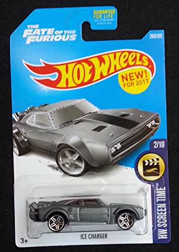 Hot Wheels 2017 HW Screen Time The Fate of the Furious Ice Charger 266/365, Gray ()