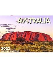 Australia - 2022 Rectangle Wall Calendar 16 Months by IG Design