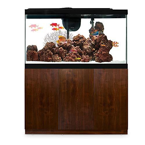 Imagitarium Faux Woodgrain Fish Tank Stand, Up to 55 Gal, 14.25 in, Natural Wood