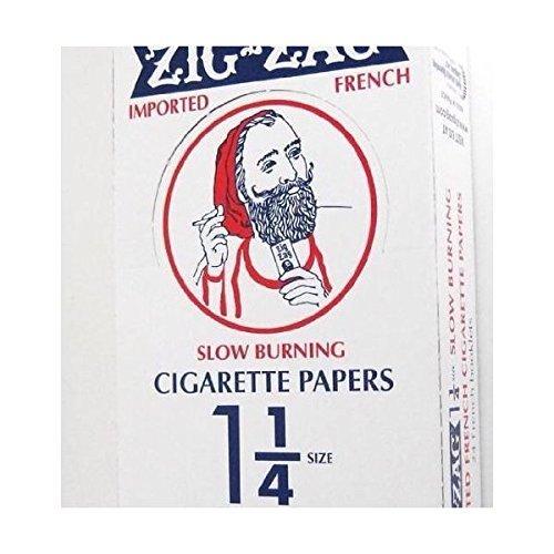 51lZF0hTH3L Zig-zag Orange Cigarette Papers Slow Burning