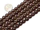 "8mm Round Smoky Quartz Beads Strand 15"" Jewelry Making Beads"