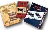 Lot Ford Naa Golden Jubilee Tractor Service Operators Parts Manuals Shop Repair