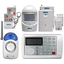 Ideal Security SK634 Wireless Home Security System with Telephone Auto-Dialer
