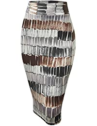 Womens Slim Fit Midi Pencil Skirt - Made in USA
