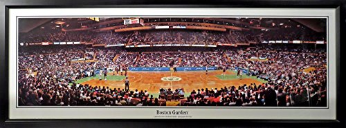 - Boston Celtics Boston Garden Panoramic Framed