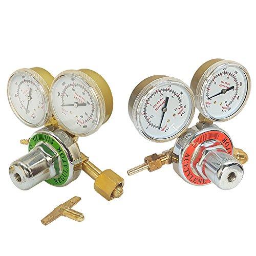 (Solid Brass Welding Fit Victor Gas Torch Cutting Oxygen Acetylene Regulators)