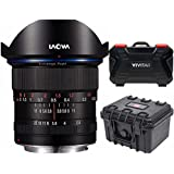 Venus Optics Laowa 12mm f/2.8 Zero-D Lens for Canon EF (Black) Hardcase Bundle