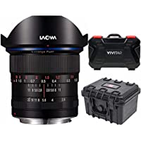 Venus Optics Laowa 12mm f/2.8 Zero-D Lens for Canon EF (Black) Hardcase Bundle