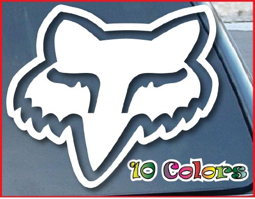 Fox Head Car Window Vinyl Decal Sticker 5