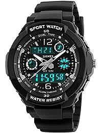 Sports Watch, Multi Function Watch 50 Meters Waterproof...