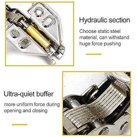 Durable 2 piezas de acero inoxidable Bisagra hidráulica hidráulico ...