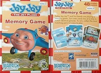 Jay Jay The Jet Plane Memory Game Amazon De Spielzeug